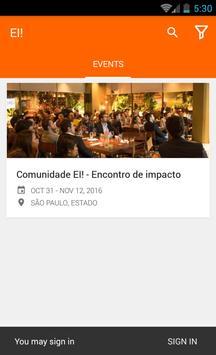 EI! - Encontro de Impacto apk screenshot