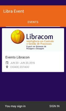 Libra Event apk screenshot