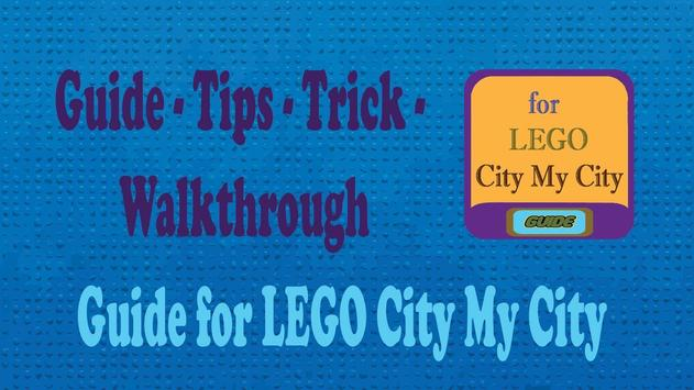 Guide for LEGO City My City poster