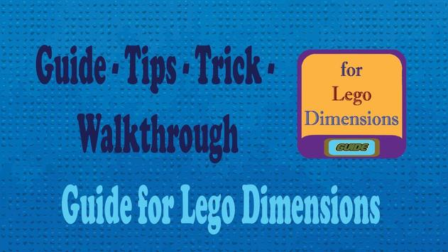 Guide for Lego Dimensions poster