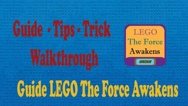 Guide LEGO The Force Awakens poster