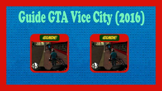 Guide GTA Vice City (2016) poster