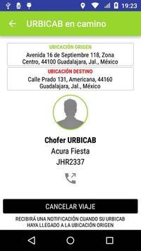 URBICAB apk screenshot