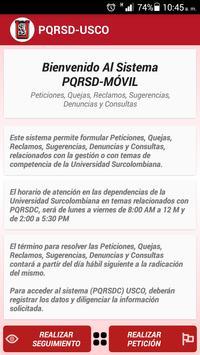 PQRSD Móvil poster