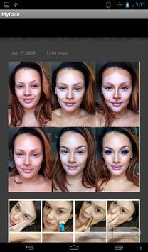 My Face makeup poster