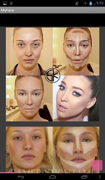 My Face makeup apk screenshot