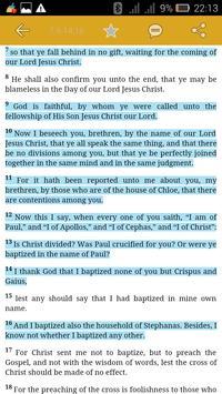 The Holy NRSV Bible apk screenshot