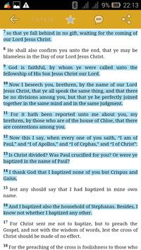 Anglican Bible with Commentary apk screenshot