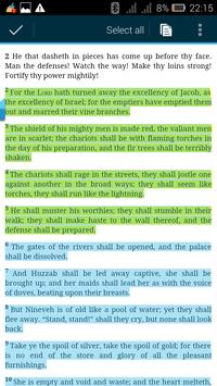 Catholic Bible with Commentary apk screenshot