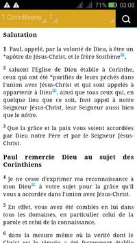 French Bible poster