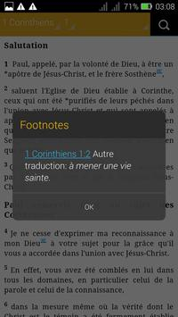 French Bible apk screenshot