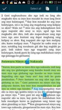 Holy Bible in Hiligaynon apk screenshot