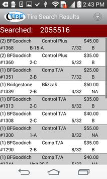Used Tire Shop Inventory apk screenshot