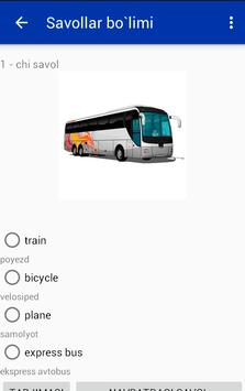 Learning English by pictures apk screenshot