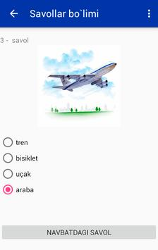 Learning Turkish by pictures apk screenshot