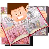 Mere Toons free comic app icon