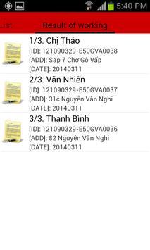 GPS Attendant apk screenshot