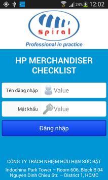 Spiral - HP Merchandiser poster