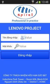 Spiral Lenovo Solution poster