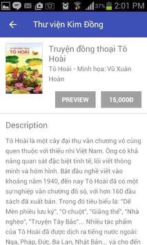 Thư viện Kim Đồng apk screenshot
