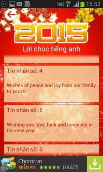 Tin nhắn chúc Tết 2015 free apk screenshot