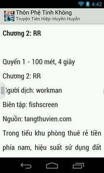 Thôn Phệ Tinh Không (Full) apk screenshot
