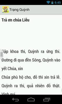 Truyen Cuoi Trang Quynh apk screenshot