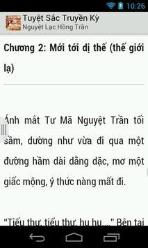 Tuyet Sac Truyen Ky (rat hay) apk screenshot