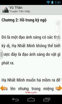 Vu Than (Truyen hot) apk screenshot