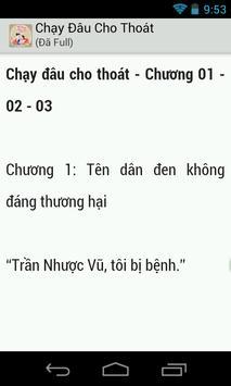 Chạy Đâu Cho Thoát (rất hay) apk screenshot