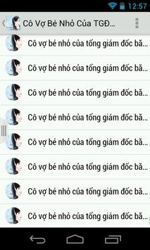 Co Vo Be Nho Cua TDG Bang Hoa poster