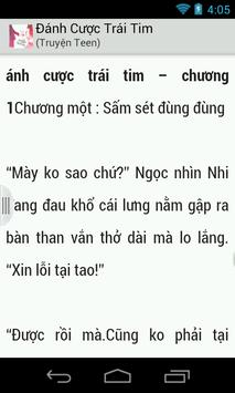 Danh Cuoc Trai Tim-truyen teen apk screenshot