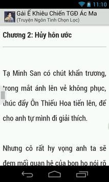 Gai E Khieu Chien TGD Ac Ma apk screenshot