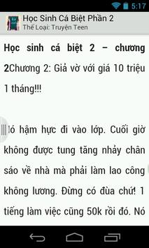 Hoc Sinh Ca Biet Phan 2 apk screenshot