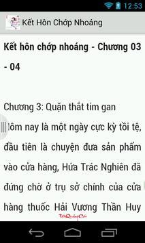 Kết Hôn Chớp Nhoáng (Full) apk screenshot