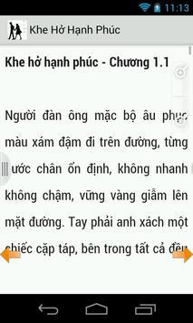 Khe Hở Hạnh Phúc (truyện hay) apk screenshot