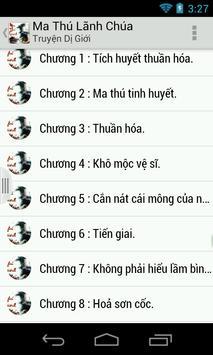 Ma Thu Lanh Chua - Tien hiep poster