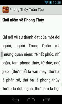 Phong Thuy Toan Tap (Sach hay) apk screenshot