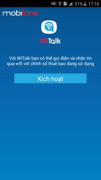 WiTalk MobiFone poster