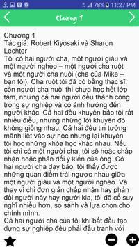 Cha Giàu Cha Nghèo apk screenshot