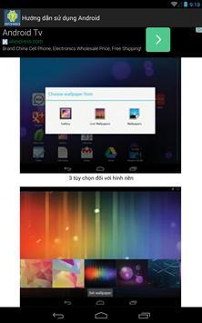 Hướng Dẫn Sử Dụng máy Android apk screenshot