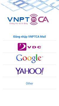 mCA Mail poster