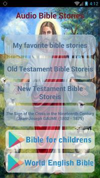♱ Audio Bible Stories poster