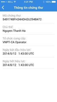 mCA TokenManager apk screenshot