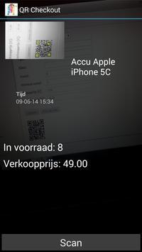 QR Checkout apk screenshot