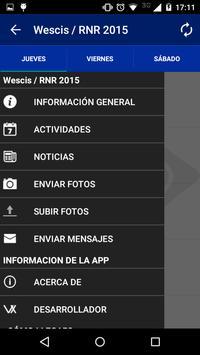 IEEE Wescis/RNR 2015 Tucumán apk screenshot