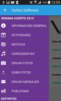Semana Huerto 2015 apk screenshot