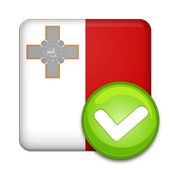 VAT check MT icon