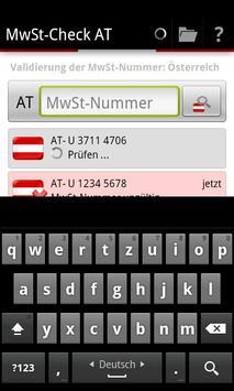 MwSt-Check AT apk screenshot