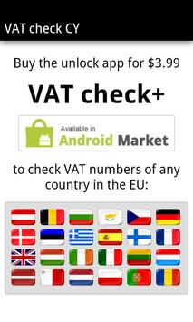 VAT check CY apk screenshot